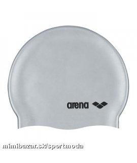 CLASSIC LOGO SILICONE CAP šedá