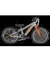 PUKY - Detský bicykel S PRO 20-7 Alu - strieborná/oranžová