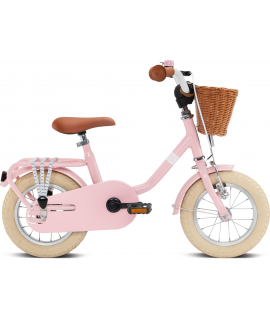 PUKY DETSKÝ BICYKEL STEEL CLASSIC 12 RETRO PINK