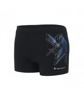 Aqua Sphere Pánske Leiko Swim Boxer Black / Dark Blue