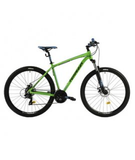 "DHS TERANNA 2925 29"" - MODEL 2018 HORSKÝ BICYKEL GREEN"