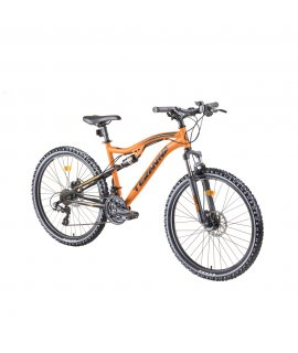 "DHS TERANNA 2645 26"" CELOODPRUŽENÝ BICYKEL - MODEL 2019 ORANGE"