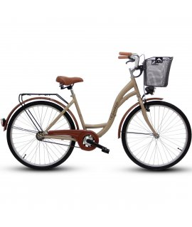 "GOETZE ECO RETRO BICYKEL 28"" CAPUCINO 2019"