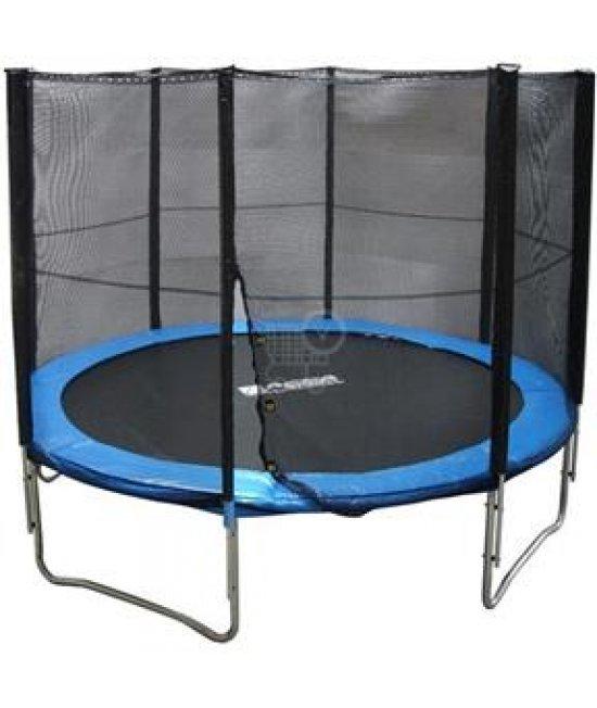 MALATEC trampolína 305 cm + ochranná sieť  + rebrík
