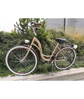 "MATEO ECO RETRO BICYKEL 26""/28"" CAPUCINO 2021"