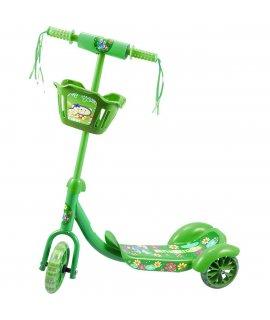 ENERO detská trojkolobežka green