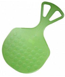 Acra Plastový klzák Mrazík  zelený