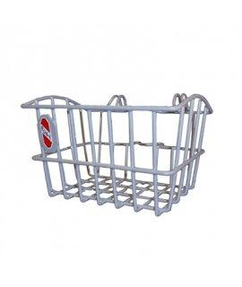 PUKY Přední košík na tříkolku stříbrný