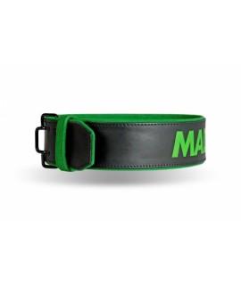 MADMAX Fitness opasek KOŽENÝ QUICK - TRNY MFB302