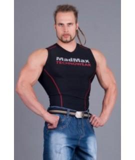 MADMAX Kompresní triko bez rukávů MSW904