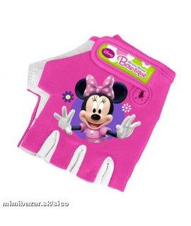 Myška Minnie Detské cyklo rukavice